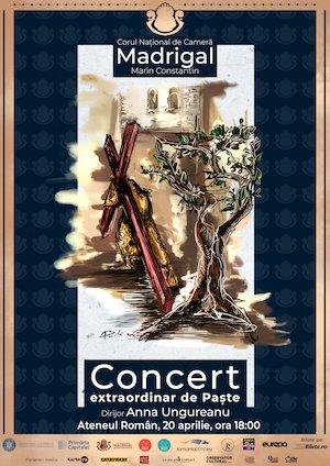 Bilete la  Concert extraordinar de Pasti Corul National de Camera Madrigal - Marin Constantin