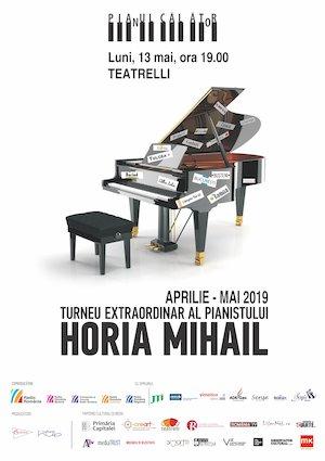 bilete Pianul calator – Turneu extraordinar al pianistului Horia Mihail