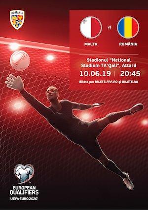 bilete Malta - Romania - Euro2020