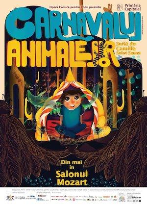 bilete Carnavalul Animalelor