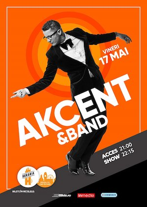 bilete Concert AKCENT & Band