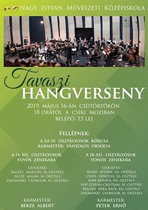 bilete Tavaszi Hangverseny
