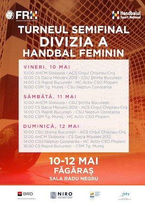 Turneu semifinal feminin - divizia A