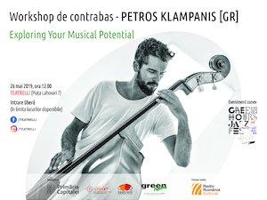 Petros Klampanis - Workshop de contrabas