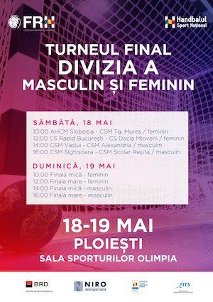 bilete Turneul Final Divizia A - Masculin si Feminin