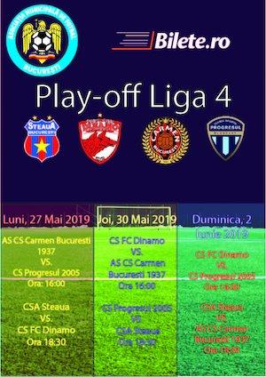 bilete Play OFF Liga IV - Steaua Bucuresti - Academia Rapid