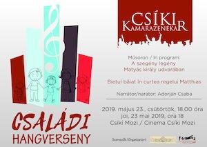 bilete Családi hangverseny