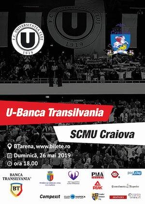 Bilete la  U-Banca Transilvania vs. SCMU Craiova