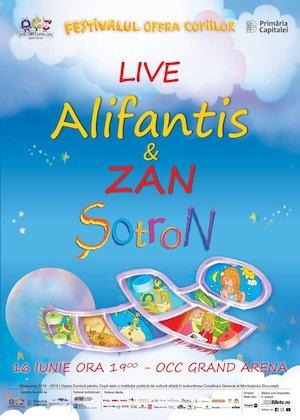 bilete Sotron cu Nicu Alifantis