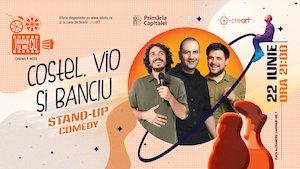 Bilete la  Stand Up Comedy cu Costel, Vio și Banciu la Gradina cu Filme