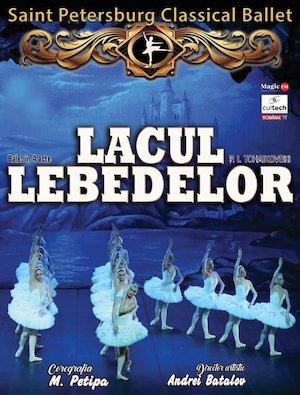 Bilete la  Ballet Classique de Saint Petersbourg - Lacul Lebedelor