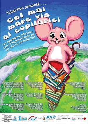 Bilete la  Tzitzi-Poc - Cel mai mare vis al copilăriei