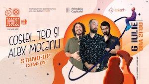 bilete Stand Up Comedy cu Costel, Teo si Alex Mocanu la Gradina cu Filme