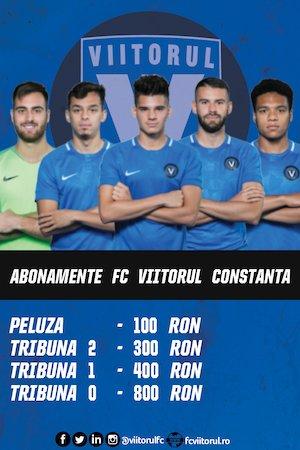 bilete Abonamente FC Viitorul