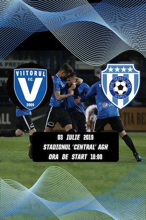 bilete FC Viitorul vs PFC Cherno More Varna