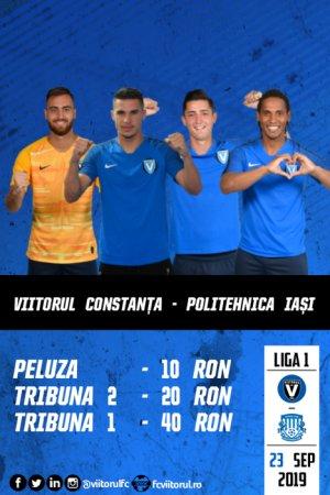 FC VIITORUL - CSM POLITEHNICA Iasi - CASA Liga 1