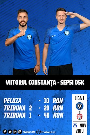 FC VIITORUL - ACS SEPSI OSK Sf. Gheorghe - CASA Liga 1