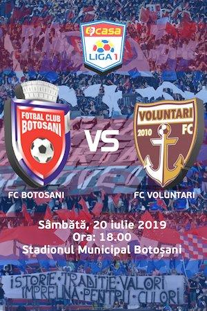 FC Botosani - FC Voluntari