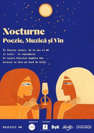 Bilete la  Nocturne de poezie contemporană