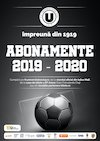 bilete Abonamente U Cluj 2019 - 2020
