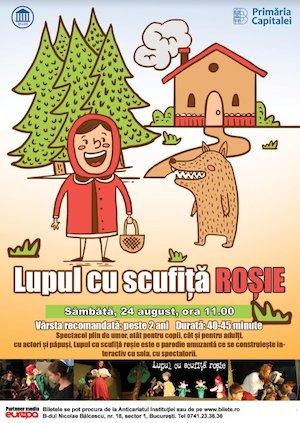 Bilete la  Lupul cu Scufita Rosie