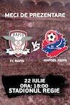FC RAPID BUCURESTI – FC HAPOEL HAIFA
