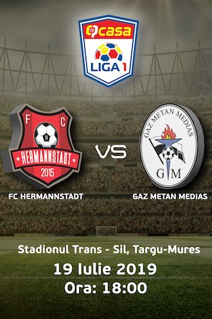 FC Hermannstadt - Gaz Metan Medias