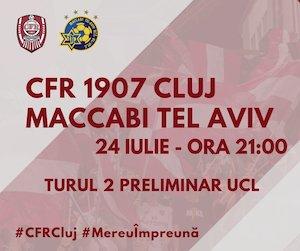 CFR 1907 CLUJ vs MACCABI TEL AVIV
