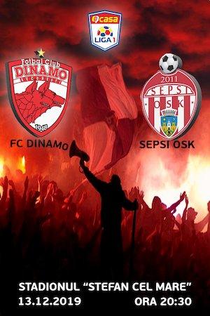 FC Dinamo - Sepsi OSK Sf. Gheorghe - Casa Liga 1