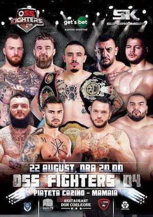 bilete Gala OSS FIGHTERS
