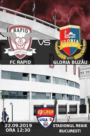 FC Rapid Bucuresti - Gloria Buzau