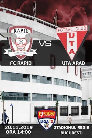 FC Rapid Bucuresti - UTA Arad