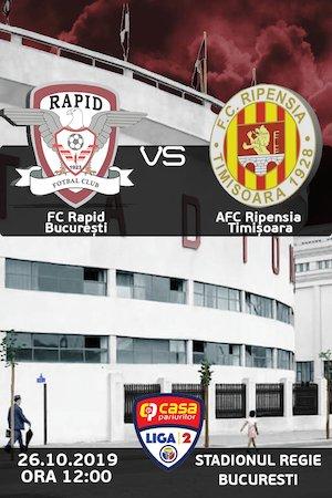 Bilete la  FC Rapid Bucuresti - Ripensia Timisoara