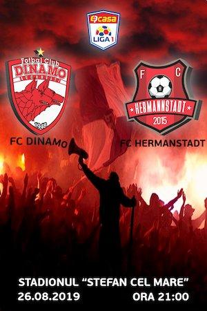 FC Dinamo Bucuresti - FC Hermannstadt - Casa Liga 1