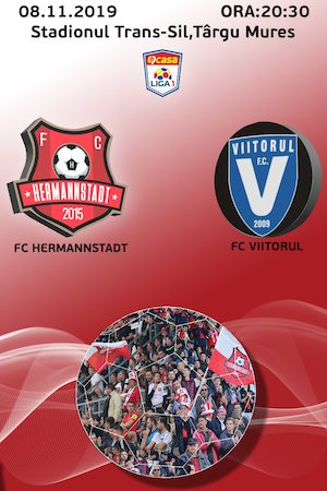 Bilete la  FC Hermannstadt - FC Viitorul - Casa Liga 1