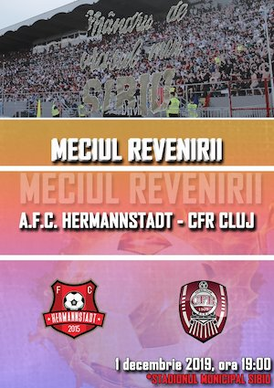 Bilete la  A.F.C. Hermannstadt vs C.F.R. Cluj - Casa Liga 1