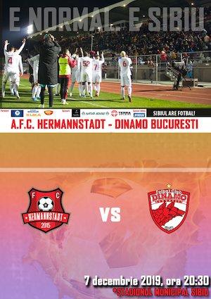 Bilete la  AFC Hermannstadt - FC Dinamo Bucuresti - CASA Liga 1