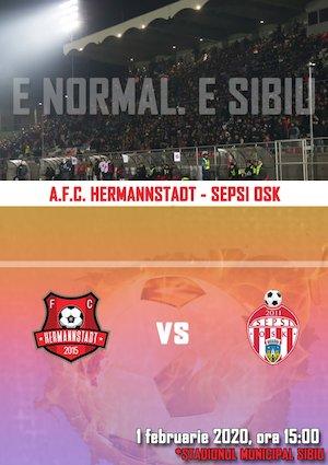 AFC Hermannstadt - Sepsi OSK Sf Gheorghe - CASA Liga 1