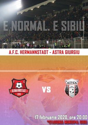 Bilete la  AFC Hermannstadt - AFC Astra Giurgiu - CASA Liga 1