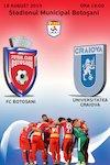bilete FC Botosani - CS Universitatea Craiova - CASA Liga 1