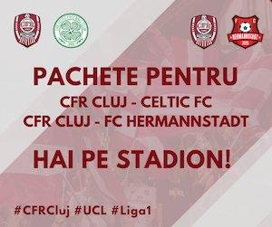 bilete Pachet CFR 1907 Cluj