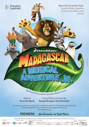 Bilete la  Madagascar - A Musical Adventure JR