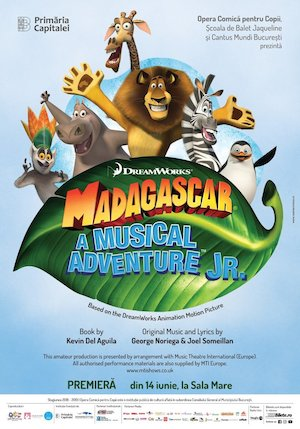 Bilete la  Madagascar - A Musical Adventure JR