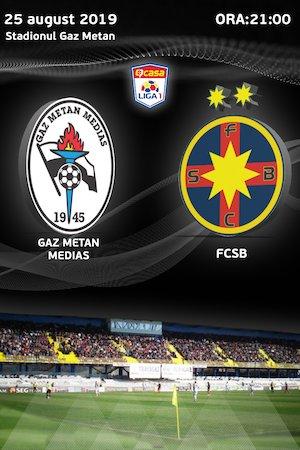Bilete la  CS Gaz Metan Medias - FCSB - CASA Liga 1