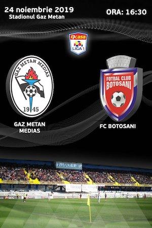 CS Gaz Metan Medias - FC Botosani - CASA Liga 1
