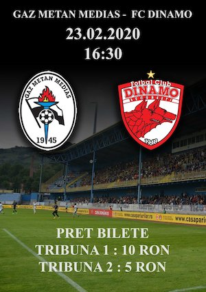 Gaz Metan Medias - FC Dinamo - CASA Liga 1
