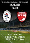 bilete Gaz Metan Medias - FC Dinamo - CASA Liga 1