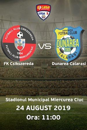 FK Csikszereda - AFC Dunarea Calarasi