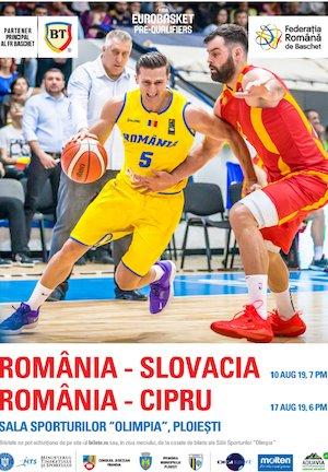 bilete Precalificari Eurobasket