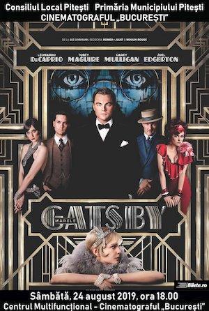 Marele Gatsby la Cinematograful Bucuresti
